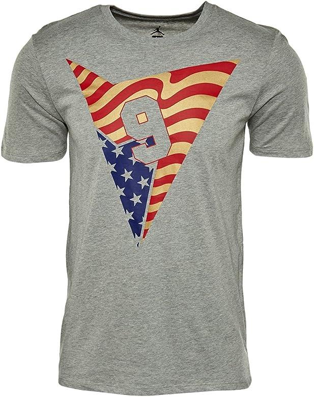 019d407e1be7d Nike Men's Air Jordan 7 Stars and Stripes T-Shirt (801121-063 ...