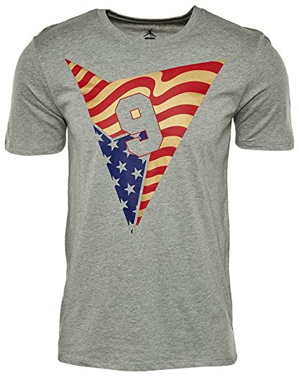 36d2bf59d7db Image Unavailable. Image not available for. Color  Nike Men s Air Jordan 7  Stars and Stripes T-Shirt ...