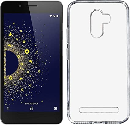 Nik Tech Online Silicone Soft Mobile Back Cover for 10 or D (Transparent)