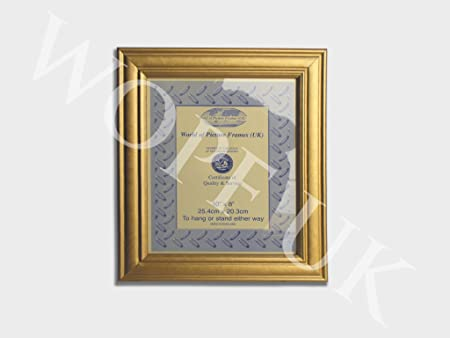 Photo / Picture Frame 3.5\' x 3.5\' Gold: Amazon.co.uk: Kitchen & Home