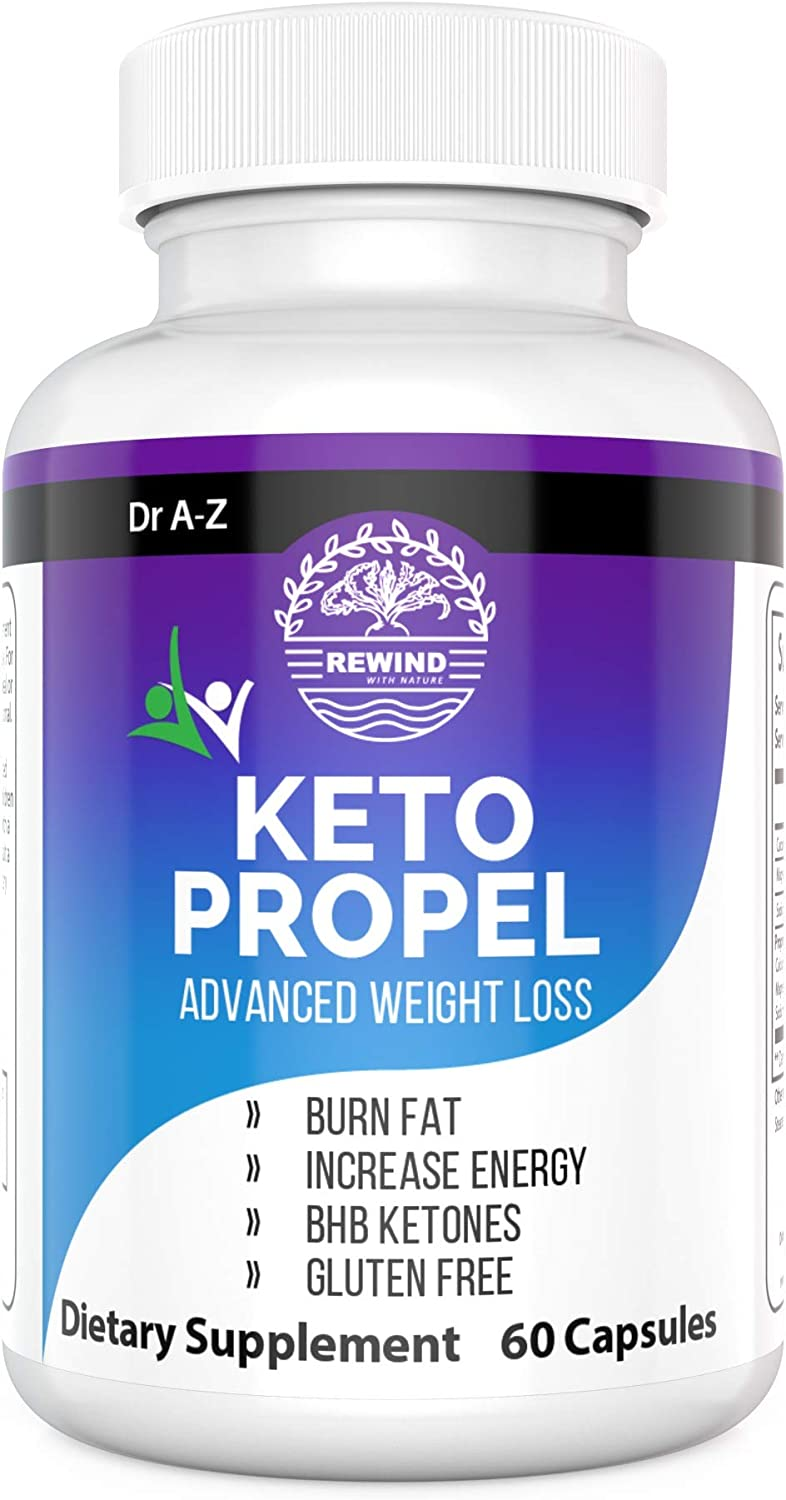 Keto BHB Propel Advanced Weight Loss Supplement Keto Boost Smart Keto by Dr A-Z 60 Caps