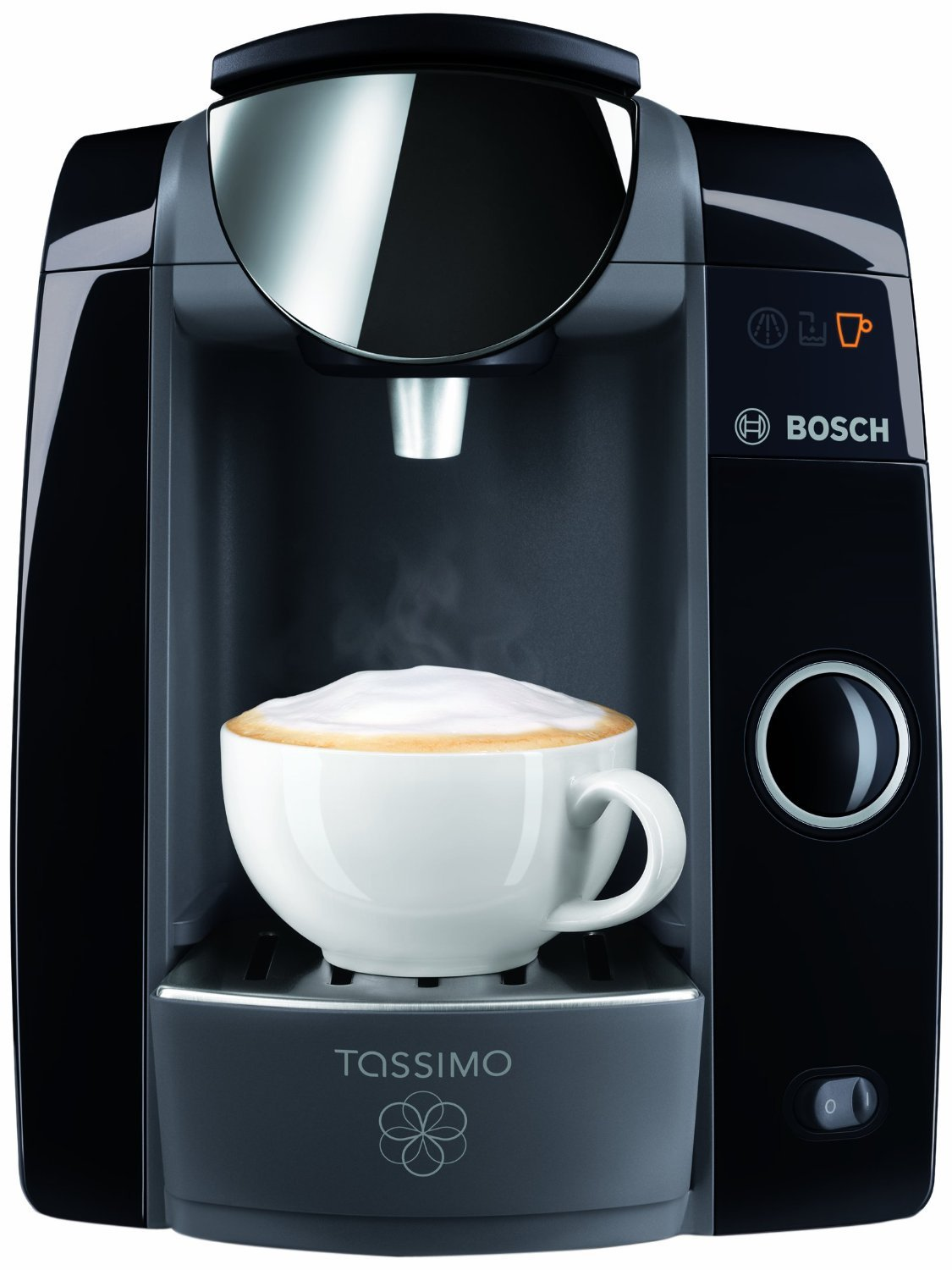 Bosch TAS4752UC Tassimo T47 Plus Beverage System and Coffee Brewer. This is the updated T47 model , featuring Mavea Maxtra Water Filtration Sytem