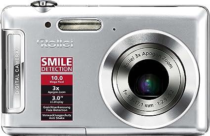 Rollei Xs 10 Digitalkamera 3 Zoll Silber Kamera