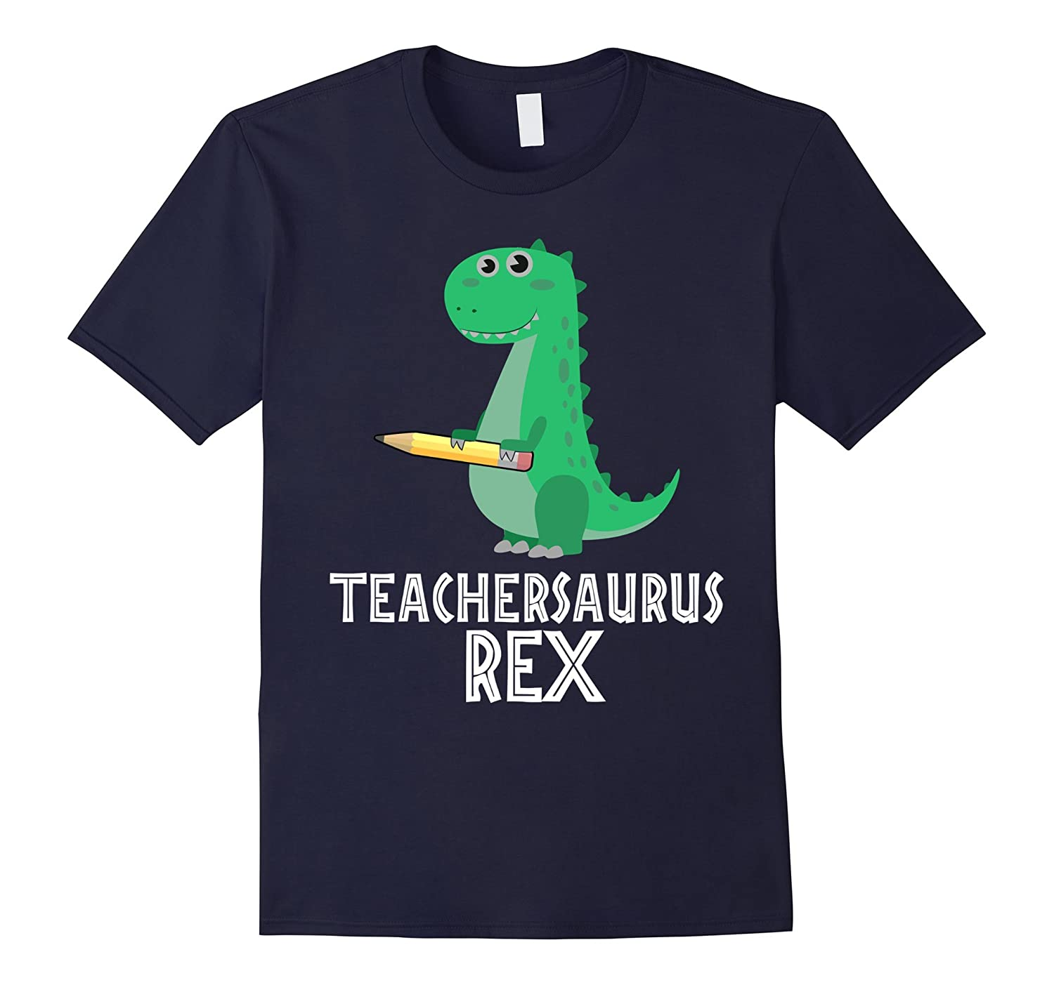 TEACHER-SAURUS Rex T-Shirt T-Rex Dinosaurs-CL