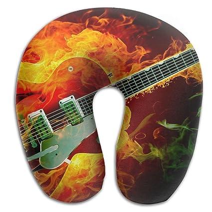 Almohada en forma de U para el cuello, hombro, cuidado del cuerpo, guitarra