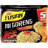 MAGGI Fusian Noodles Mi Goreng Hot & Spicy, 5 Pack, 365g