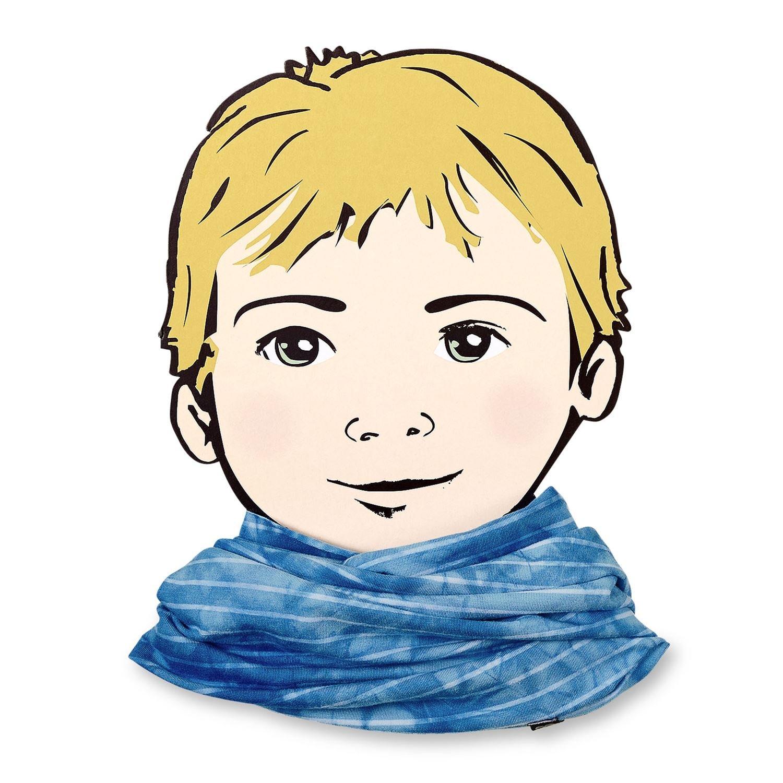 Sterntaler - Schlauchschal Loop für Jungen gestreift allrounder, blau - 1531752 blau - 1531752 - Mblau