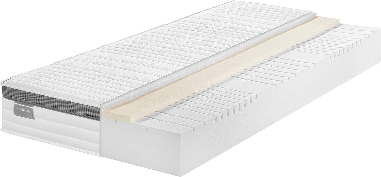 Traumnacht Comfort Memory Foam Durezza 3 Materasso in Schiuma Fredda con Schiuma a Memoria 80 x 190 cm