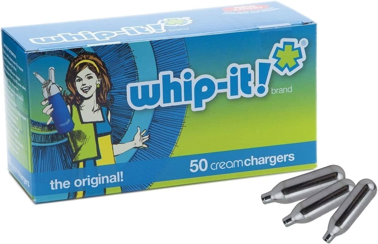 Amazon.com: Whip-it! Cream Chargers 24 Pack: Cream Whippers ...