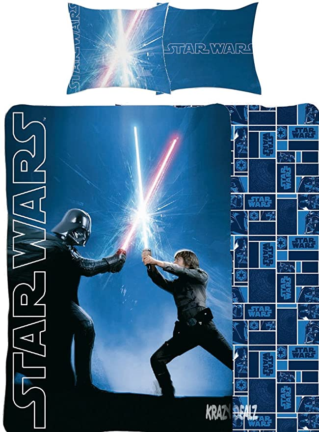 Funda Nordica Lego Star Wars.Star Wars Classic Single Panel Duvet Cover Bed Set