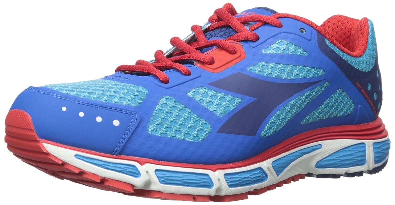 Diadora N-4100-2 St - Zapatillas de Running para Hombre 8.5 D(M) US|Azul Fluorescente/Micro Azul