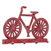Abbott 27-Iron Age/290 Collection Antique Red Bicycle Wall Hook