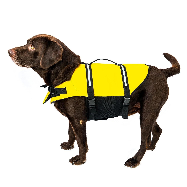 Chaleco salvavidas para perros, arnés reflectante, con correa para ...