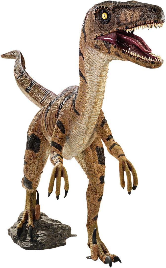 "Velociraptor Raptor Dinosaur Resin Figurine Miniature Statue 8/""L New"