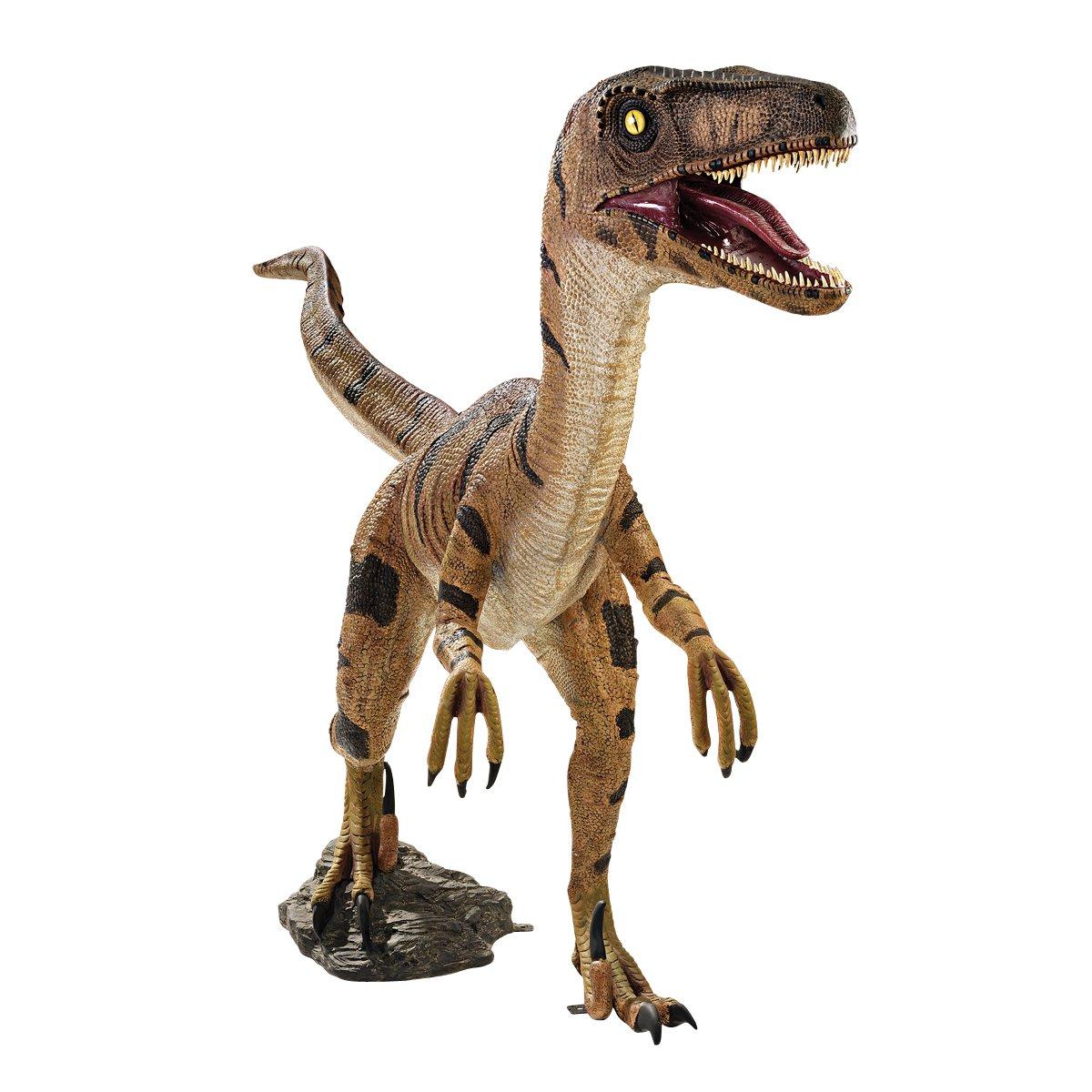 Velociraptor Jurassicsized Dinosaur Statue Amazonca Patio