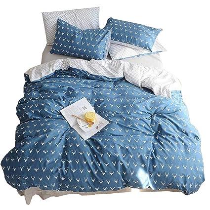 Amazoncom Highbuy Kids Boys Bedding Duvet Cover Set Twin Cotton