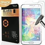 2 Stück Samsung Galaxy S5 Mini Schutzfolie Glas Panzerfolie Panzerglas Displayschutzfolie,9H Hartglas Glasfolie Displayschutzglas Display Folie Screen Protector für Samsung Galaxy S5 Mini