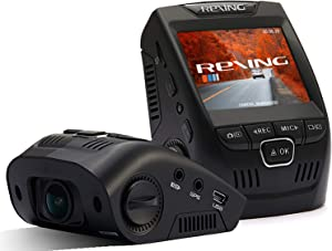 "Rexing V1 Basic Dash Cam 1080P FHD DVR Car Driving Recorder with Sony Exmor Video Sensor, 2.4"" LCD Screen 170°Wide Angle, G-Sensor, WDR, Parking Monitor, Loop Recording"