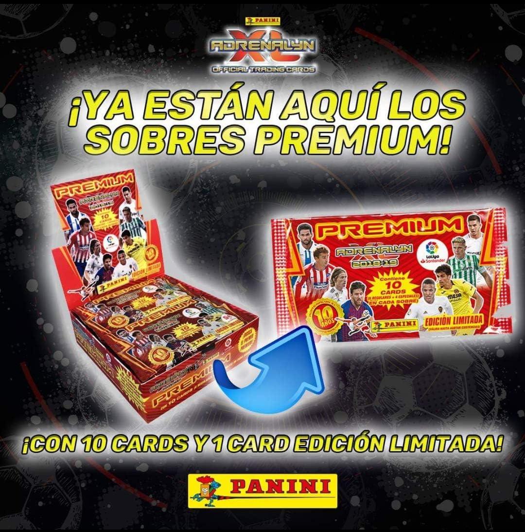 Panini 003714BOX20PREMIUM Caja Premium Adrenalyn 2018-2019, 20 ...
