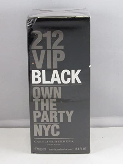 3d5422d3a Buy 212 VIP Black 3.4 oz. (100 ml) Eau de Parfum for Men 100% Authentic  Sealed Box Online at Low Prices in India - Amazon.in