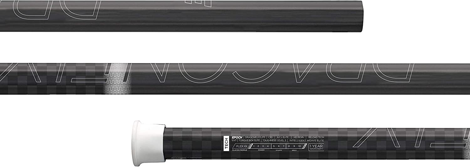Epoch Dragonfly Elite Attack/Midfield Concave Lacrosse Shaft
