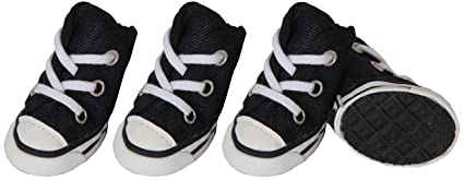 66d359aebe4a5 Extreme-Skater Canvas Casual Grip Pet Sneaker Shoes - Set of 4