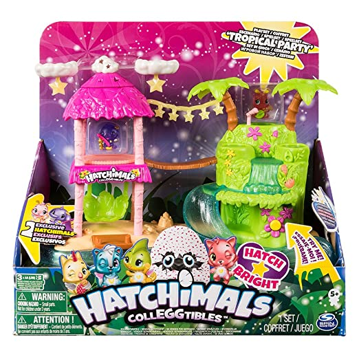 Amazon.com: Hatchimals – Island Light, Multicoloured (Bizak ...