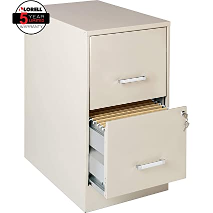 Amazon Lorell Office Dimensions 22 Deep 2 Drawer Letter Sized