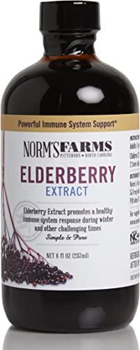 Norm s Farms Elderberry Extract, 8 Ounce Jar
