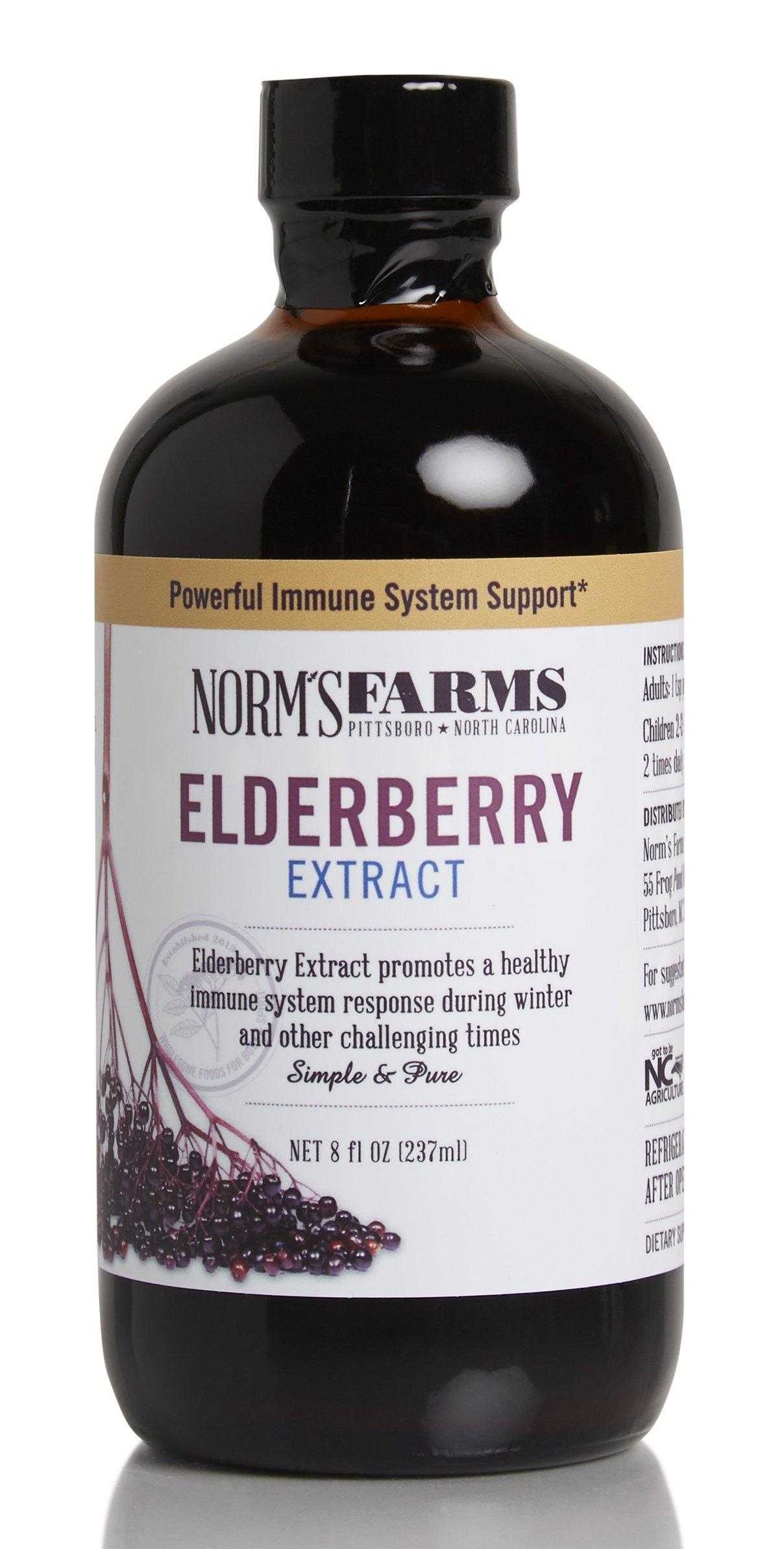 Norm's Farms Elderberry Extract, 8 Ounce Jar