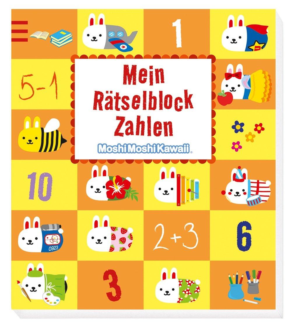 MoshiMoshi Mein Rätselblock Zahlen