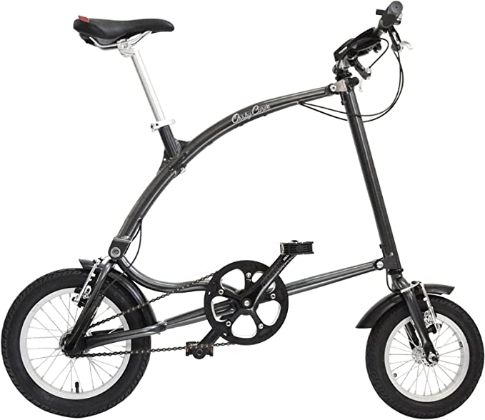 Ossby Curve Bicicleta Plegable, Unisex Adulto, Grafito, Talla ...