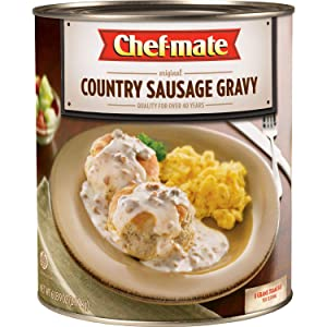 Chef-mate Country Sausage Gravy - 105 oz. (pack of 4) A1