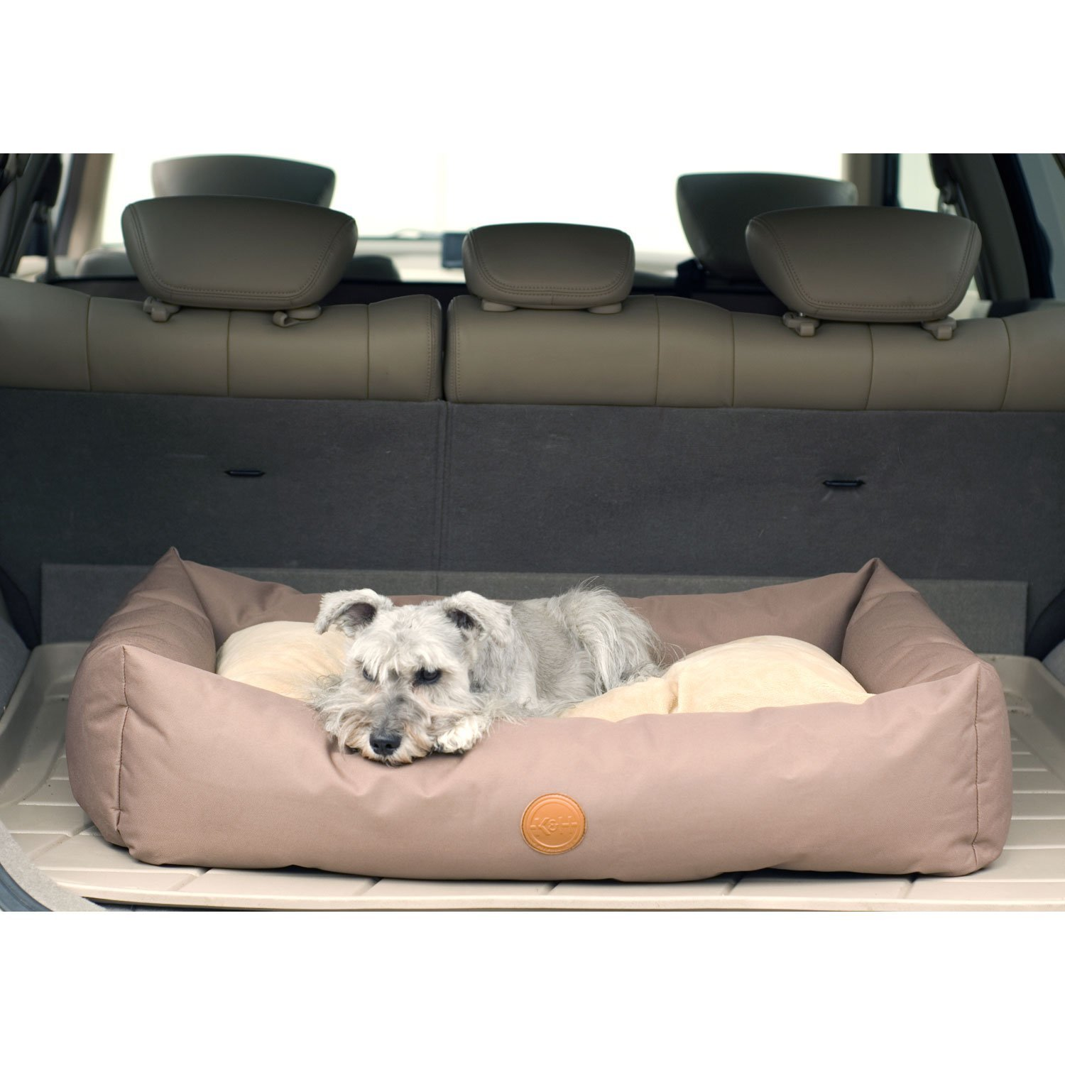 K&H Pet Products Travel/SUV Pet Bed Large Tan 30'' x 48''