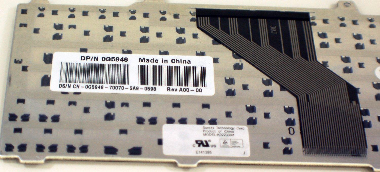 Amazon.com: NEW Genuine OEM DELL Laptop Keyboard Inspiron 700m 710m Teclado Latin Spanish G5946 Black Replacement Keypad Key K022330X Espanol: Computers & ...