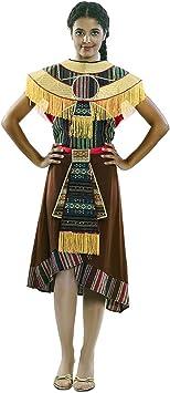EUROCARNAVALES Disfraz de India Azteca para Mujer: Amazon ...