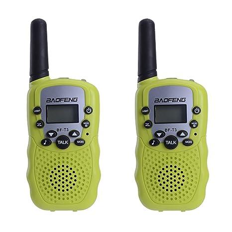 BaoFeng BF T3 Mini 2 Way Radios Walkie Talkies Long Range Birthday Gift Ideas Toys