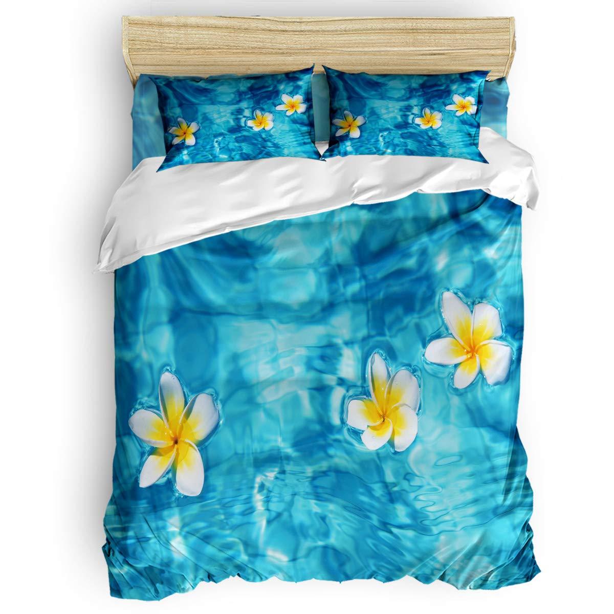 掛け布団カバー 4点セット ビーチ ココナッツの木 海景 寝具カバーセット ベッド用 べッドシーツ 枕カバー 洋式 和式兼用 布団カバー 肌に優しい 羽毛布団セット 100%ポリエステル キング B07THB56HS floatflowerLAS1517 キング