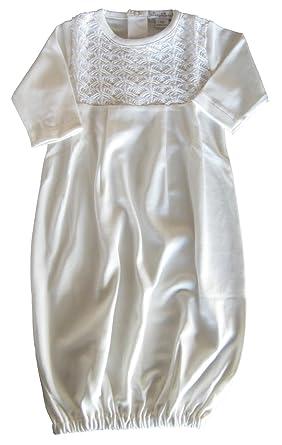 0a4f53675ad Amazon.com  Kissy Kissy Baby-Boys Infant Serenity Sack-Ecru-Newborn   Clothing