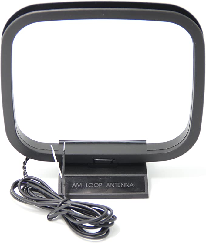Hi-Fi AM Loop Antena de Cable para Sharp/Panasonic ETC. Receptor Runer Sistemas de Audio