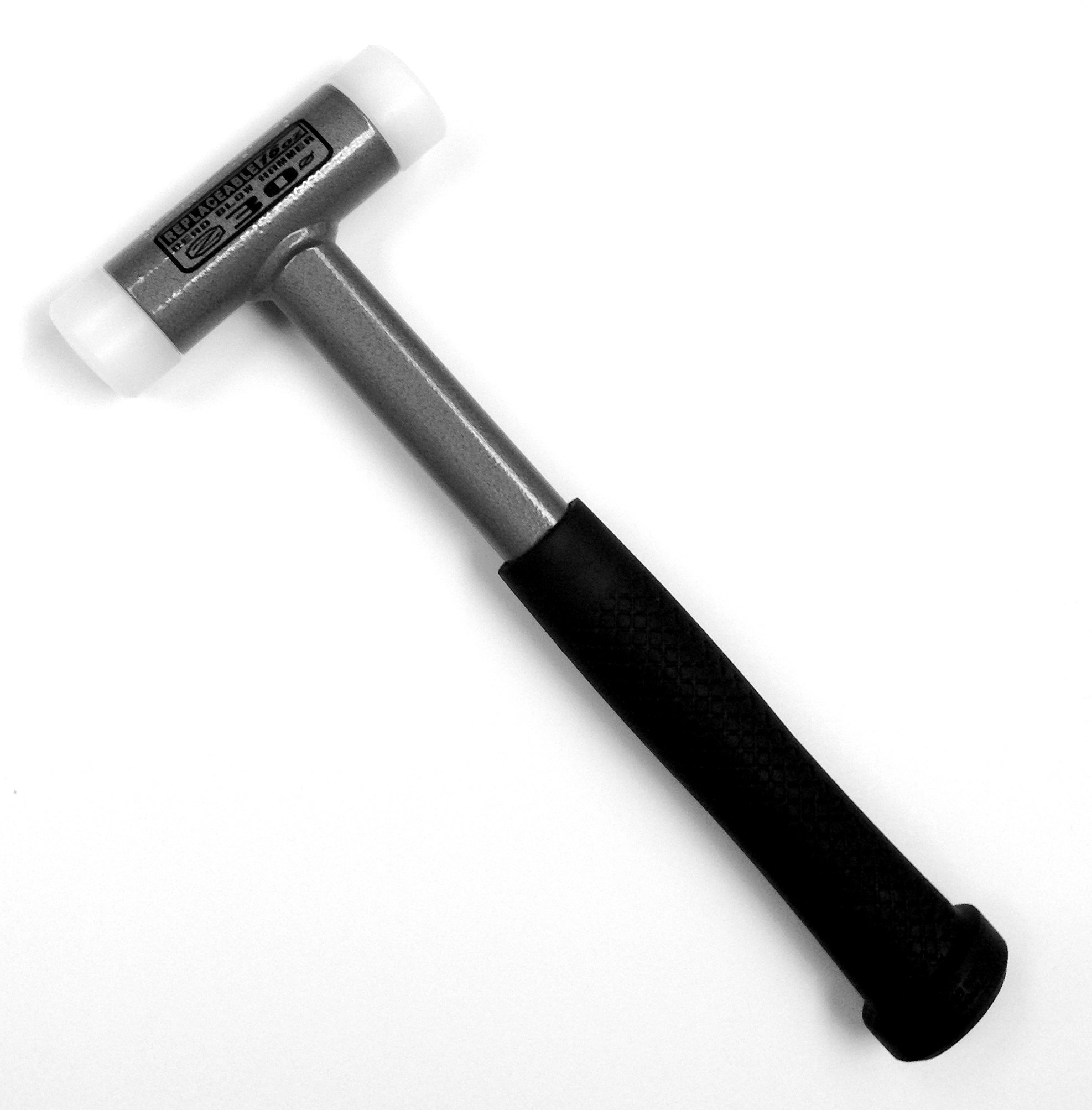 Pro Series by HHIP 7080-0302 Dead Blow Hammer, Upe Plastic, 16 oz.