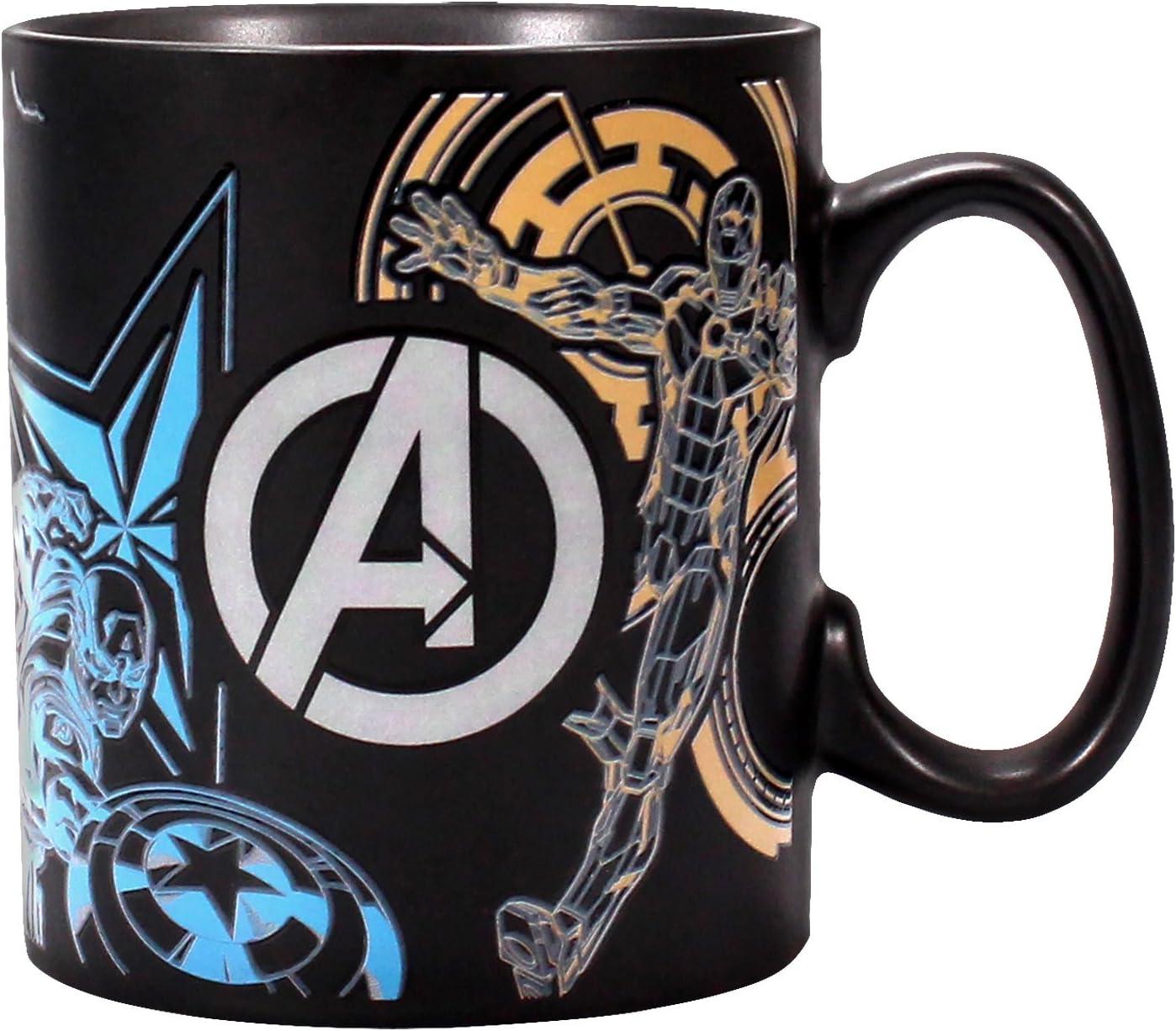 Heat Changing Mug Marvel Avengers-Heroes Coffee Tea Original Licensed Product