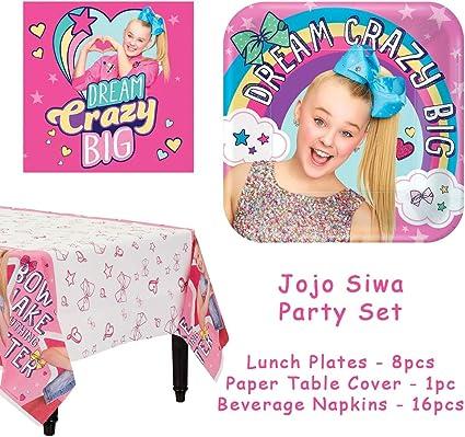 JoJo Siwa Birthday Party Paper Table Cover