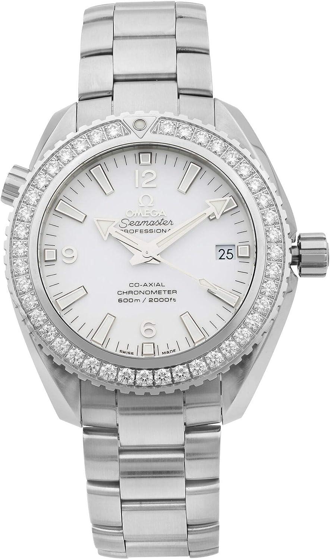 Omega Seamaster Planet Ocean Reloj automático de mujer con diamantes 232.15.42.21.04.001