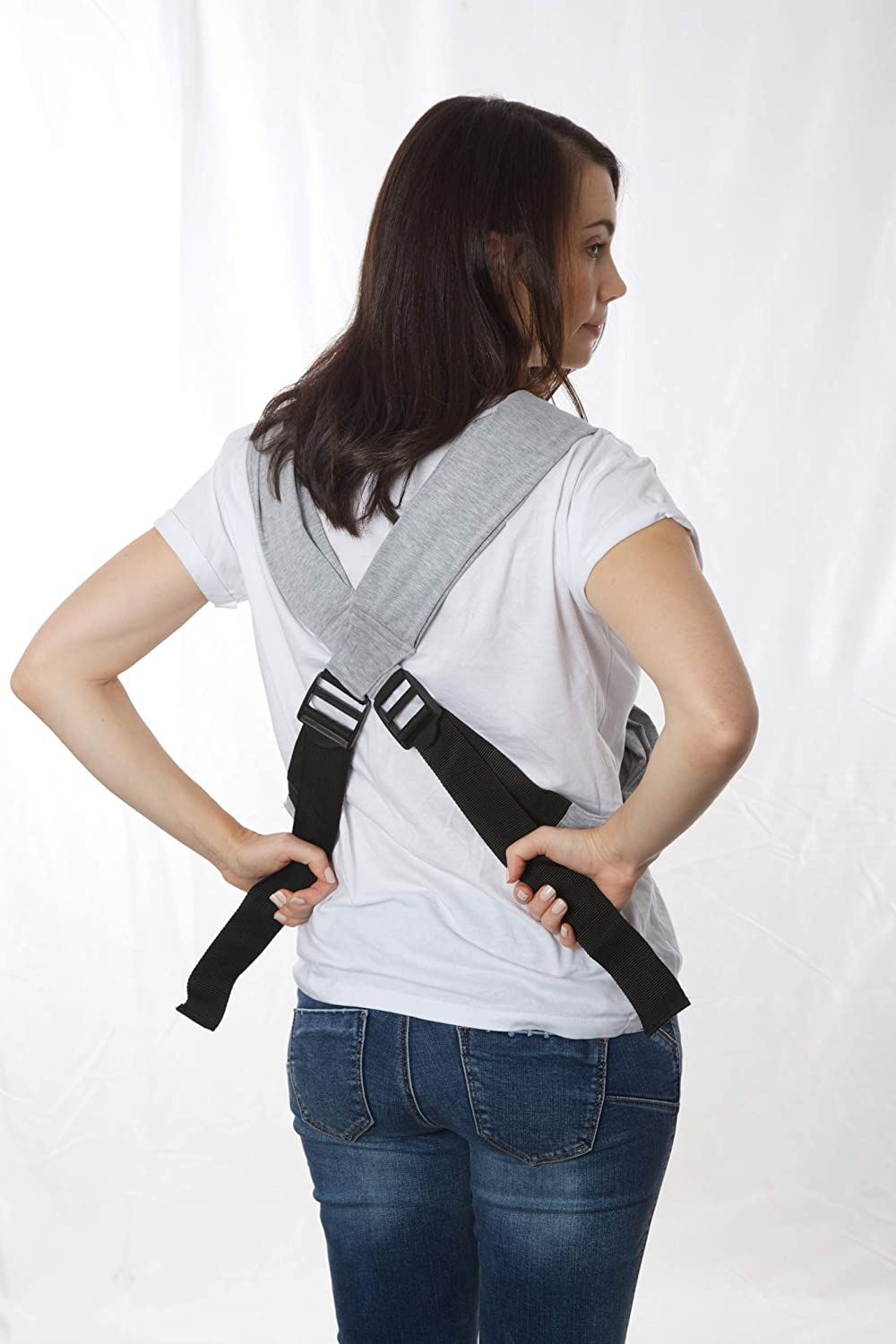 Grey SYKI Baby Carrier