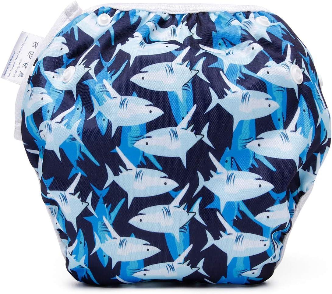 storeofbaby Baby Swim Diaper Cute Starfish Printed Reusable Girl Pool Pants