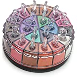 JGB Glitter Pigment eyeshadow Powder 20 colors cool beauty naked daily club makeup shimmer cosmetic mineral eye shadow palette set