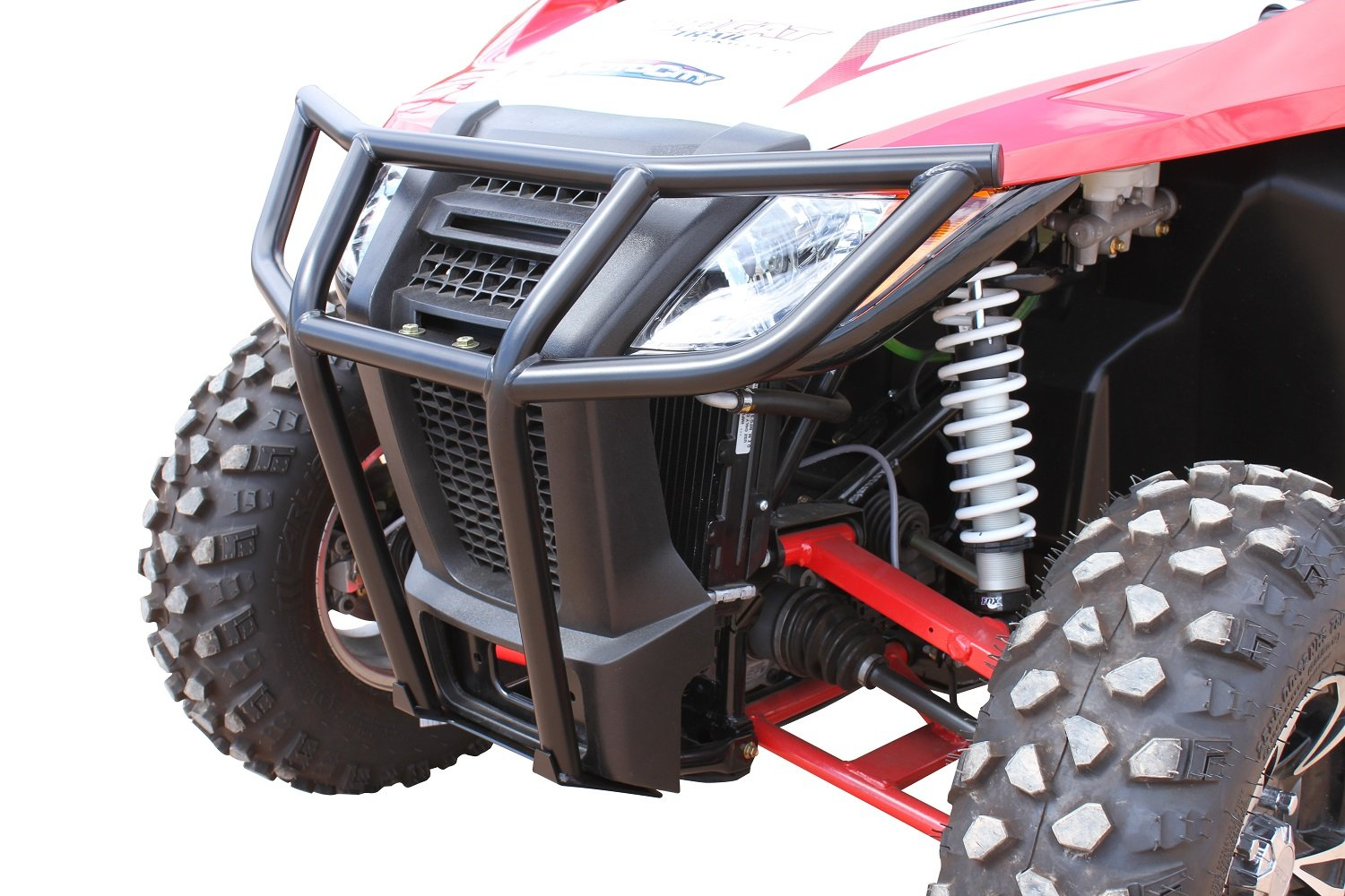 Dragonfire Racing RockSolid Black Front Bumper Arctic Cat Wildcat Trail/Sport
