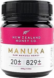 New Zealand Honey Co. Raw Manuka Honey UMF 20+ | MGO 829+, 250g