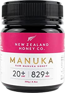 New Zealand Honey Co. Raw Manuka Honey UMF 20+ | MGO 829+, 250g